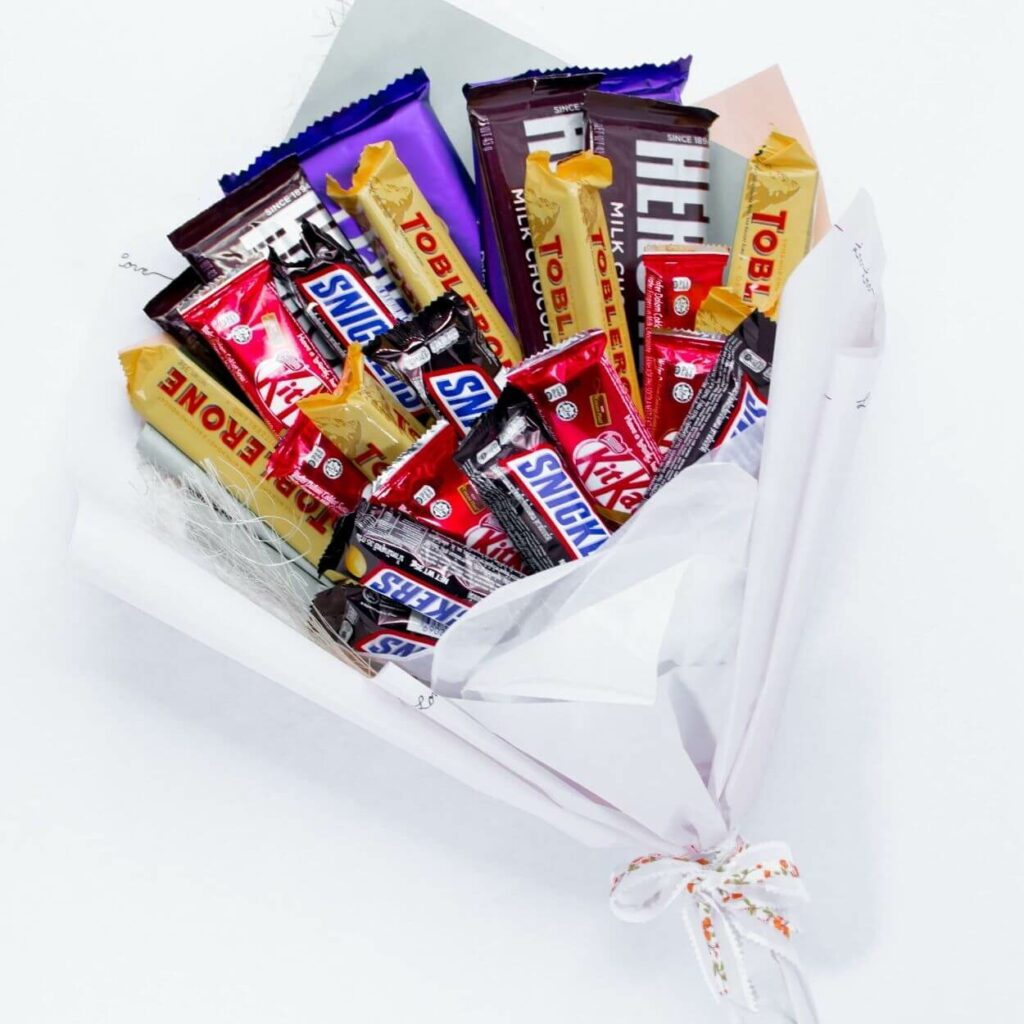 Candied Happiness Bouquet - valentines day gifts for boyfriend