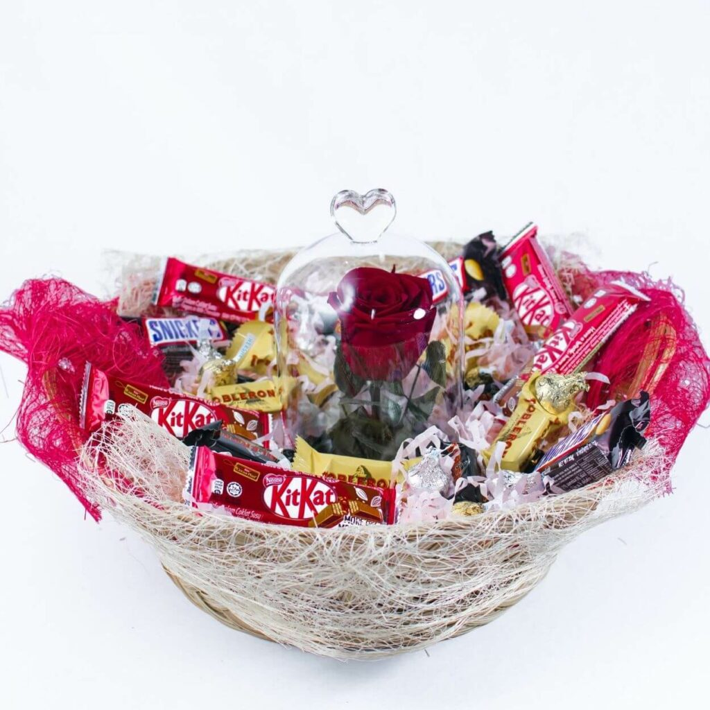 fairytale gift basket - best valentine gift for girlfriend