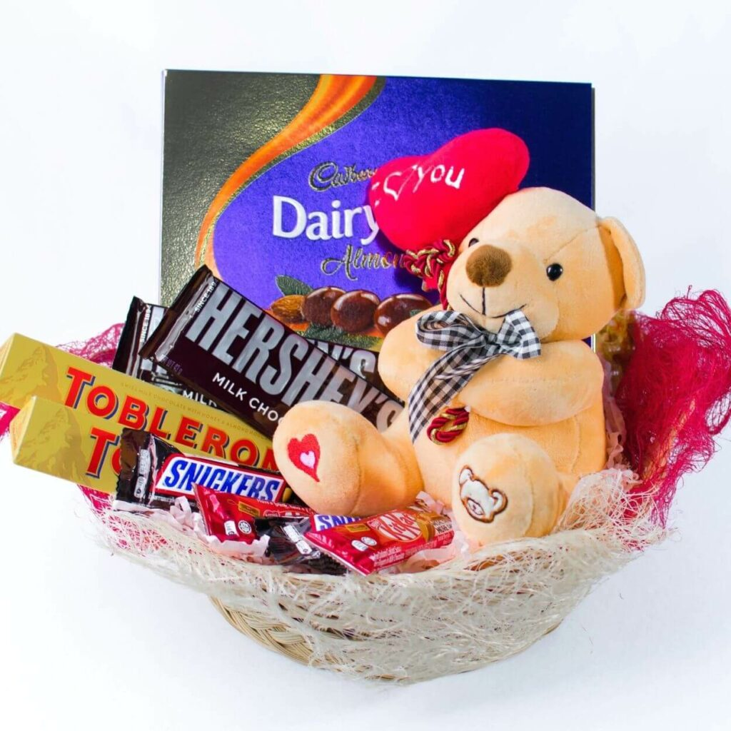 I Treasure You Gift Basket