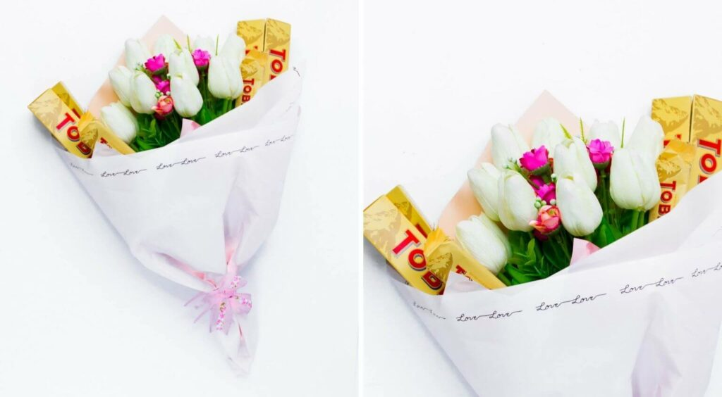 Je taime Bouquet - Last Second Valentines Day Gifts