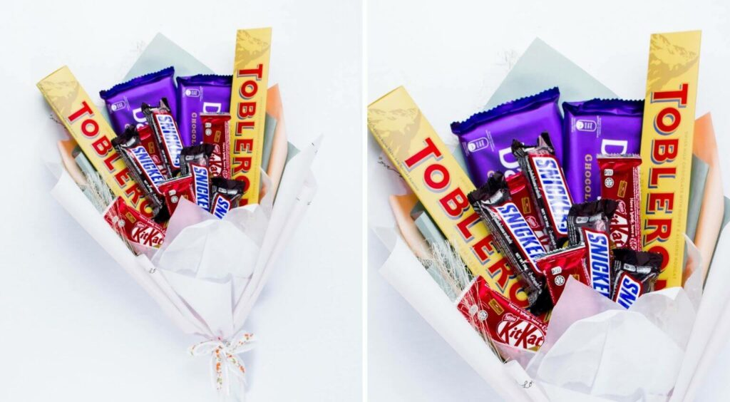 Sweet Delight Chocolate Bouquet - Last Second Valentines Day Gifts