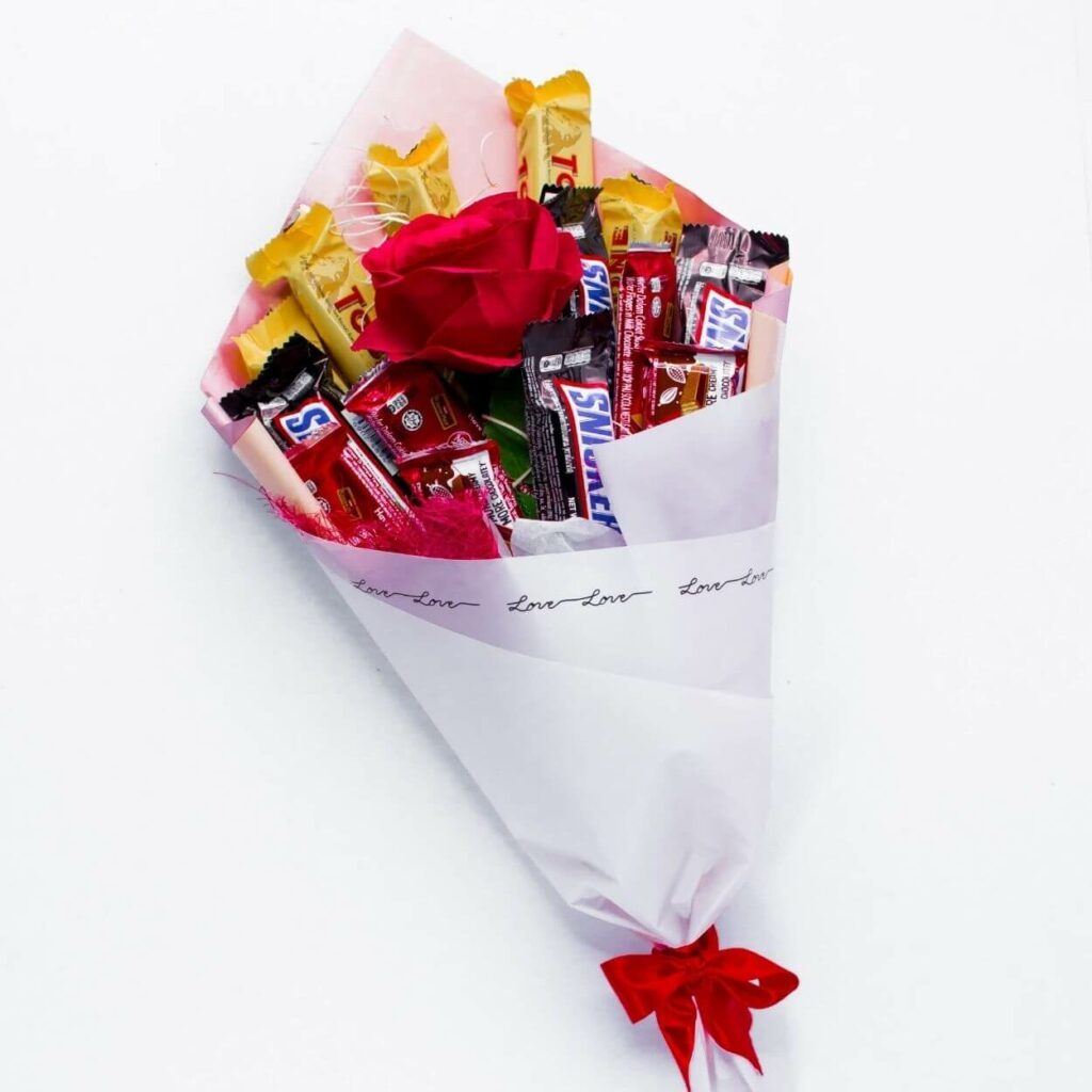 sweet bouquet - best valentine gift for girlfriend