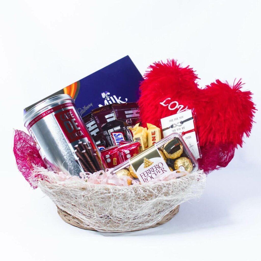 chocolate gift basket - online valentine gifts philippines